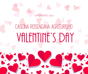 Valentine day's 2020 at Cascina Rosengana @ Cascina Rosengana