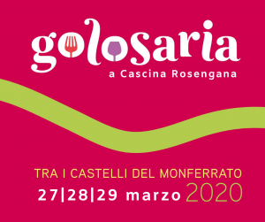 Golosaria 2020 a Cascina Rosengana @ Cascina Rosengana Agriturismo