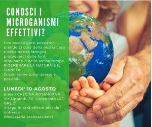 Microrganismi Effettivi- una filosofia di vita @ Cascina Rosengana